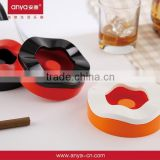D439 delicate appearance custom made ashtray promotion gift different kinds ashtray with round ashtray