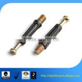 galvanized carbon steel acrylics furniture cam lock screw