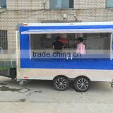 Inquiry about Blue NEW 8.5 X 16 16' ENCLOSED CONCESSION FOOD VENDING BBQ MOBILE KITC mobile food cart food trailer multi-function food trailer