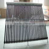 30 copper heat pipes evacuated tubes solar collector system                                                                         Quality Choice