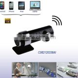 Portable Battery Powered HD 1080P WIFI Reverse Surveillance Camera For Vehicle With G-sensor