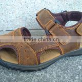 high quality leather baotou rubber soles sandals chappals