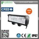 Hot Sell popular 180w LED Light Bar CHIP build-in for Offroad Vehicle,Heavty Duty,Agriculture,Mining and Marine QRLB180-C