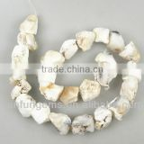 Natural AB grade White Opal rough gemstone for jewelry making