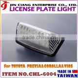 New trend product Car Refit FOR TOYOTA PREVIA Number Plate Light Frame