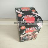 black Mamba sexual enhancement capsule packing blister paper box with Butterfly hole                                                                                                         Supplier's Choice