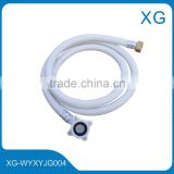 2m pvc flexible inlet hose for washing machine/High pressure flexible inlet outlet hose/dishwasher drain hose