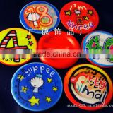 plastic clip button badge for promotion