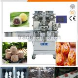 automatic ice-cream mochi encrusting and forming machine with high productivity 120pcs/min