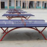 China Cheap Export Outdoor Table Tennis Table New Design