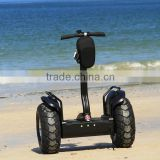 Two wheels self balancing electric scooter,stand up electric chariot personal transportation with reflective stickers