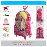 New Trolley school bag 3D EVA with 3 wheel can climb stairs