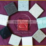 red sparkle quartz stone slab countertop