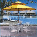 Aluminium metal used garden furniture outdoor white tables and chairs                                                                                         Most Popular