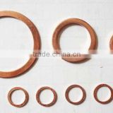 China Supplier Supply Spare Parts TS16949 Certificated Good Material Copper Crush Washer