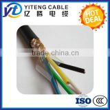 PVC Sheathed Flexible Control Cable Braiding Cable