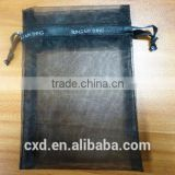customized bags organza bags/pouch with logo ribbon for Chrismas eve's apples                                                                                                         Supplier's Choice