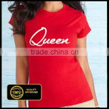 Spring Summer New Style Sexy V-Neck With Wholesale Price Plain T-shirt custom t shirt printing