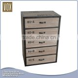 Chinese fir 40Pcs mirrored chest of drawers