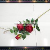 wholesale artificial flower red rose bud