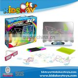 Intelligent kid 3D magnetic drawing board