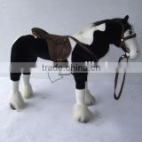 EN71 standards mechanical plush horse animal toys children toys                                                                         Quality Choice