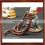 Beautiful Natural Colour Unisex Wooden Bracelets Jewelry Red Sandalwood Bangles