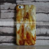 Bright shiny various marble custom design IMD TPU mobile phone case For IPhone 5 and Iphone 6