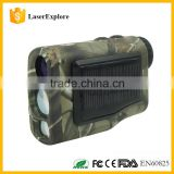 China OEM sports outdoor tour pin seeking golf 1000m laser rangefinder Solar rangefinder