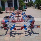 high qulity tandem axles boat trailer for sale