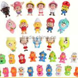 mini toy character 3d face changing doll