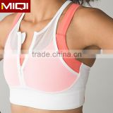 High quality women yoga apparel ladies sports crop tops brazilian fitness wear