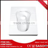 China Supplier Ceramic Pan Chinese Style American Standard Squat Toilets