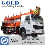 1000m drill depth truck mounted drilling rig XY-5T portable rough terrain truck