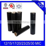 23mic x 500mm x 300m LLDPE Shrink Wrap Black Film