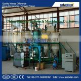 SINODER Edible Cooking Oil Refinery Plant sunflower soy crude palm oil refining machine palm oil mini oil refinery plant