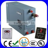 Factory supply 9kw 220v/380v wet steam room use steam generator