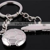 Personalized Soccer Shoes Keychain Metal Football Keychain Key Chains Keyring Keyfob Ideal Gift