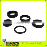 68166067AA Oil Filter Adapter O-Ring Kit for 2011-2013 Chrysler 300C LX 3.6 2011-2013 Dodge Charger LD 3.6