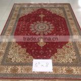 cheap price hot sale handmade silk rug iranian silk persian carpet tabriz persian carpet