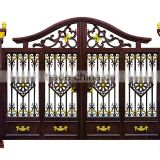 2015 decorative cast aluminum garden gates iron courtyard gate