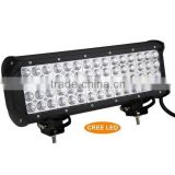 3W each LED,180W Quad Row CRE LED Work Light Bar,LED Mining Bar,for SUV JEEP Offroad Car(SR-QUC-180A,180W)Spot/Flood/Combo