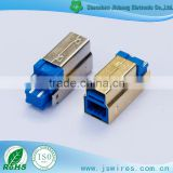 USB solder type short version of USB 3.0 B Male Connector