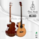 wood bass guitar OEM