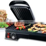 2 in 1 electric grill 2200W ceramic marble coating home applicance N101 Raclette