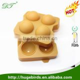 Best Ice Cube Tray with Lid -Custom Personalized Novelty Food Grade Silicone Ball Shape Silicone Ice Cube