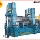 3 Roller machine sheet metal cutting and bending machine, thread rolling machine with Siemens motor
