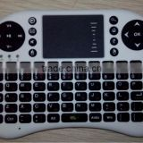 2.4ghz Mini Wireless USB Silicon/Rubber Keyboard Russian Layout for Android