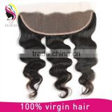 Big in stock fast delivery 8A grade wholesale no tangle no shedding virgin brazilian hair full lace frontal closure