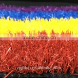environmental rainbow artificial turf for kindergarten/turf aritficial grass with cheap prices